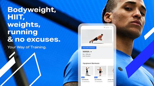 Freeletics Training Coach - Bodyweight Fitness modiapk screenshots 1