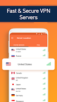 screenshot of Turbo VPN- Free VPN Proxy Server & Secure Service