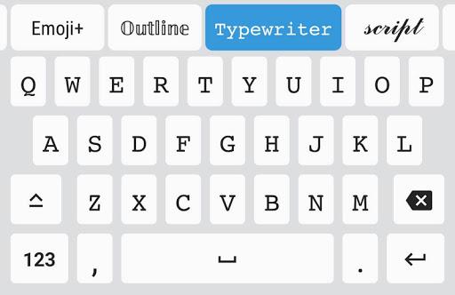 Fonts - Emojis & Fonts Keyboard  Screenshots 1