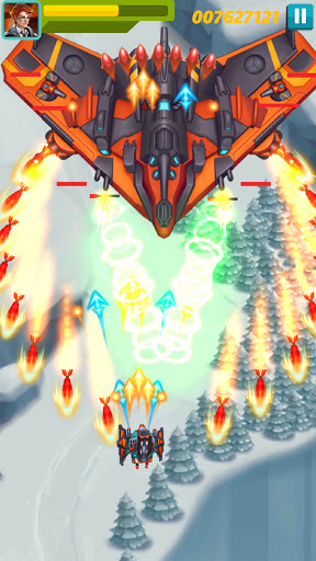 Sky Raptor: Space Shooter - Alien Galaxy Attack apkmr screenshots 1