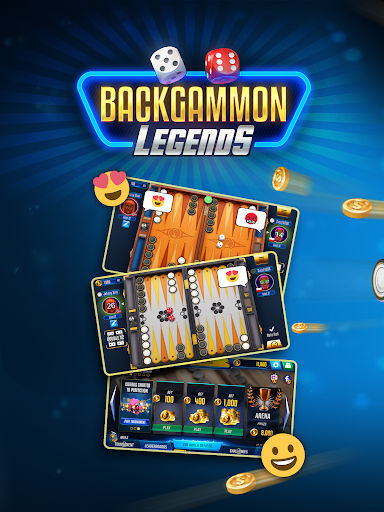 Backgammon Legends - online with chat 1.70.5 screenshots 6