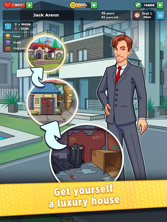 Hobo Life: Business Simulator & Money Clicker Game poster 8