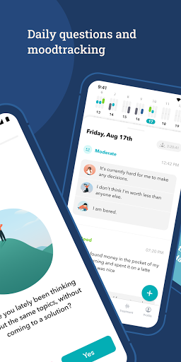 MindDoc: Your Mental Health Companion android2mod screenshots 2