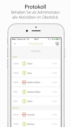 smartlock.de Danalock App  screenshots 3
