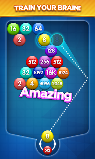 Number Bubble Shooter