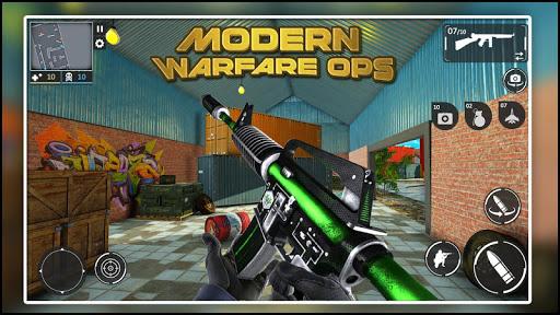 Modern Warfare Ops: FPS Shooter - Shooting Games  screenshots 1