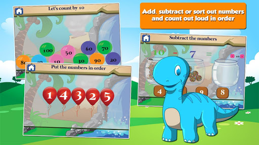 Dino 1st Grade Learning Games  screenshots 12