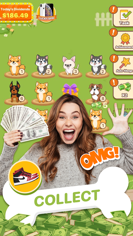 Puppy Town - Merge & Win  poster 2