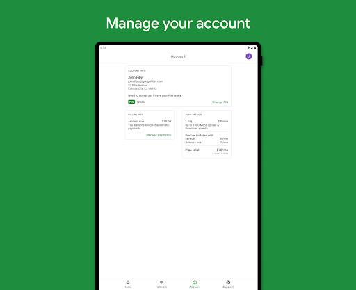 Google Fiber android2mod screenshots 11