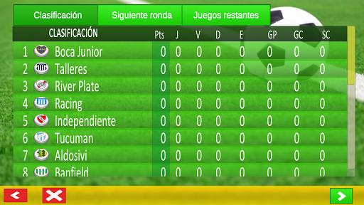 superliga game argentina screenshot 2