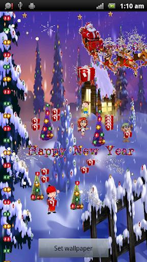 Foto do Merry Christmas Live Wallpaper