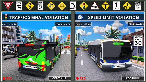 Bus Driving Simulator Games : Coach Parking School 1.7 screenshots 15