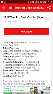 カナダでの仕事
