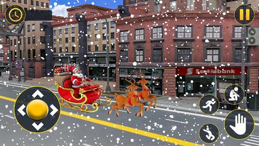 Christmas Santa Crazy Kart Gift Delivery Game 2020 1.2 screenshots 1