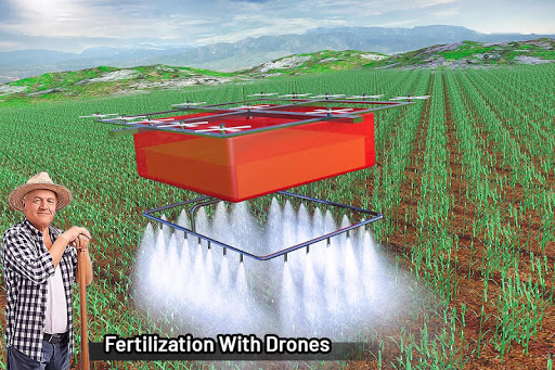 Modern Farming Simulation: Tractor & Drone Farming screenshots 15