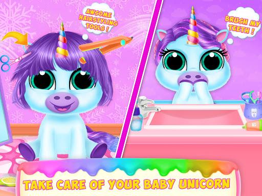 Baby Unicorn Pet Care  screenshots 15