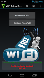 WiFi Tether Router APK (MOD, Patched) 6.3.5 for android 1