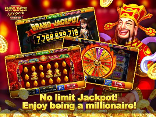 Golden Tiger Slots - Online Casino Game  screenshots 9