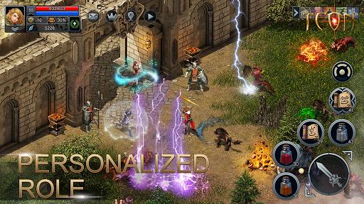 Teon: Sword & Magic apkslow screenshots 8