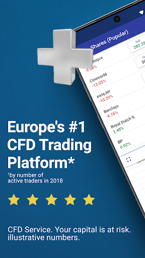 Plus500: CFD Online Trading on Forex and Stocks  Paidproapk.com 1