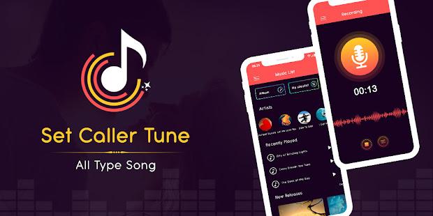 Set Caller Tune - MP3 Cutter & Ringtone Maker App 1.1 screenshots 1