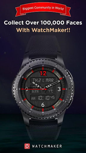 Watch Faces - WatchMaker 100,000 Faces  screenshots 1