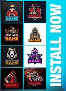 Logo Esport Maker - Create Gaming Logo with Name 0.5 Screenshots 8