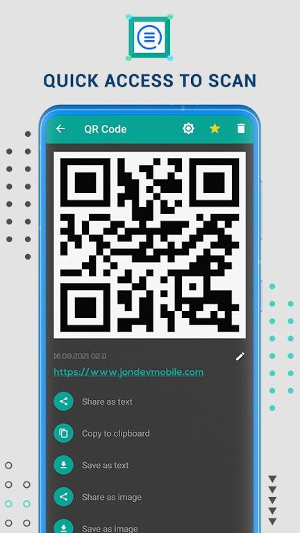 Free QR Code Reader & Barcode Scanner - QR Scanner poster 6