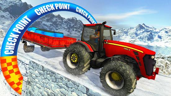 Farm Tractor Cargo Driving Simulator 20 screenshots 15