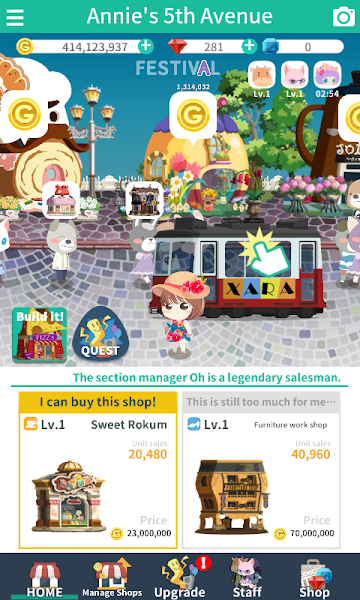 Annie's shop: Idle Tycoon