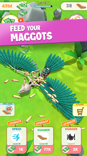 Idle Maggots apkpoly screenshots 12