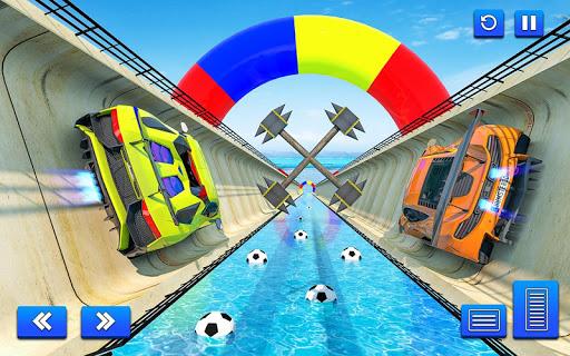 Water Surfing Car Stunt Games: Car Racing Games  screenshots 3