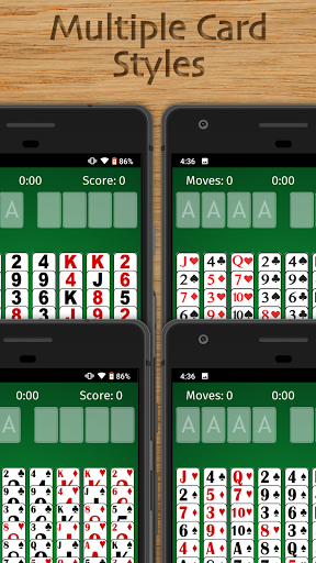 FreeCell Solitaire Free - Classic Card Game  screenshots 7