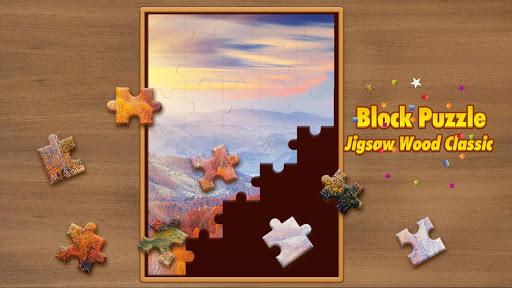 Jigsaw Wood Classic -  Block Puzzle  screenshots 12