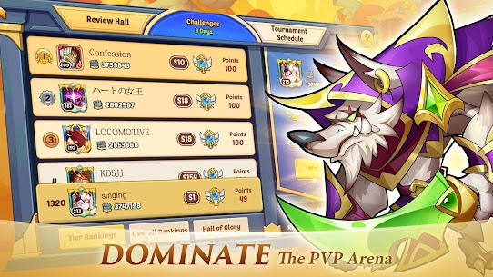 Idle Heroes MOD APK 1.25.0 (VIP 13) [Unlimited Gems/Money/Coins] 4