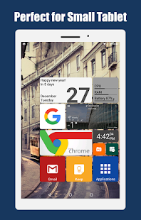 Square Home - Launcher : Windows style Screenshot