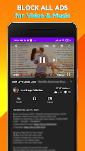 Pure Music Tube  Block Ads for Video Tube  Music Apk Download NEW 2021 3