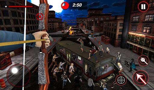 Archer Hunting Zombie City Last Battle 3D modavailable screenshots 13