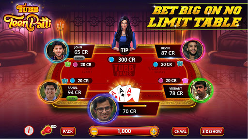 Tubb Teen Patti - Indian Poker - TTP 4.7 screenshots 3