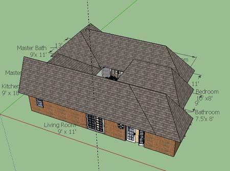 Roof Sketchup Design  Screenshots 3