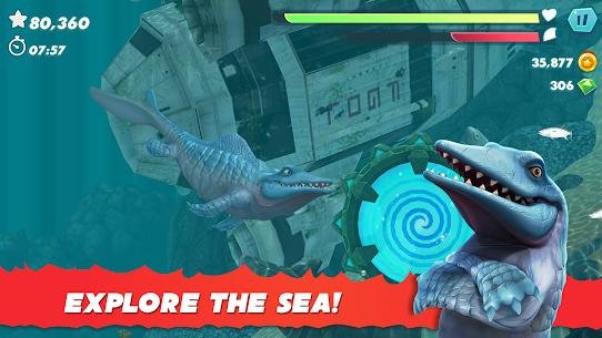 Hungry Shark Evolution Mod Apk 2021 (Unlimited Coins/Gems) 2