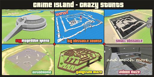 Crime Island - Crazy Stunts  screenshots 9
