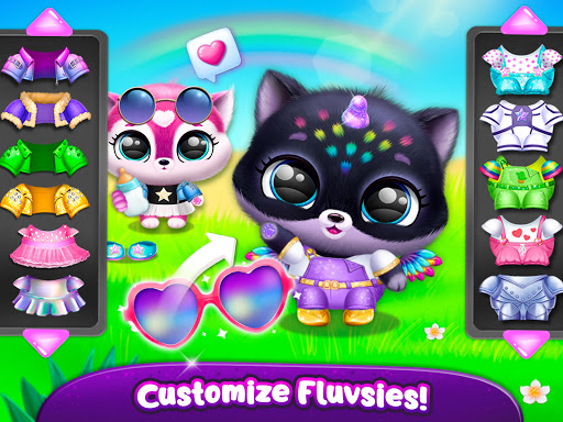 Fluvsies Pocket World - Pet Rescue & Care Story apkpoly screenshots 16