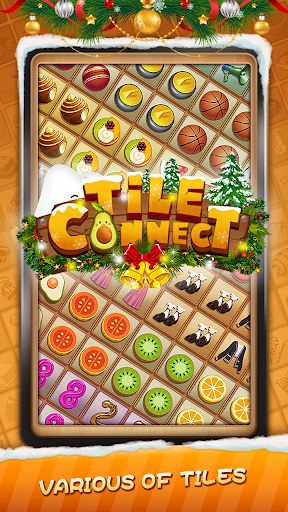 Tile Connect - Free Tile Puzzle & Match Brain Game android2mod screenshots 1