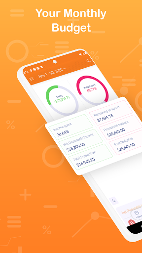 Monthly Budget Planner & Daily Expense Tracker apktram screenshots 1