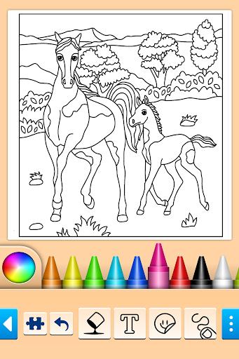Girls games: Painting and coloring  screenshots 9