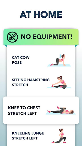 Stretching Exercises at Home -Flexibility Training 1.1.5 Screenshots 5