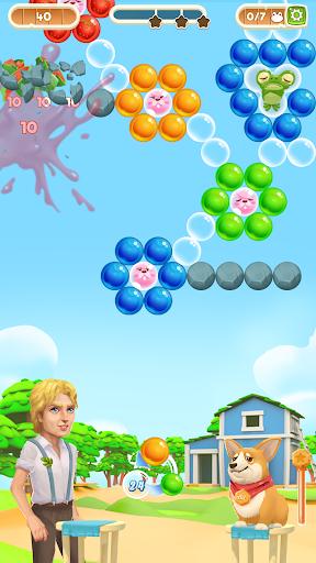 Bubble Shooter Magic Farm apktram screenshots 2