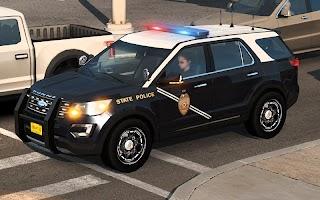 Police Spooky Jeep Parking Simulator V3