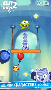 Cut the Rope 2 Mod Apk [All Levels Unlocked] 4